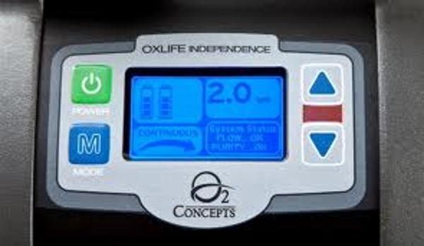 OxLife Independence Control Panel