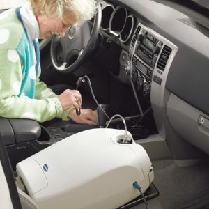 Charging the Invacare SOLO2 in the Car