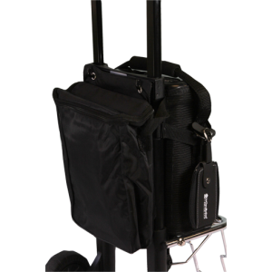 Invacare XPO2 Accessory Bag on the Travel Cart
