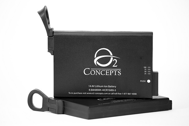 Batteries for OxLife Independence Portable Oxygen Concentrator
