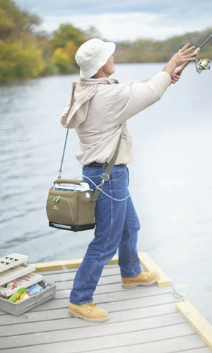 Fishing with the Respironics SimplyGo